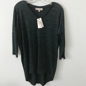 NWT!!  Philosophy Forest Green Tunic Top